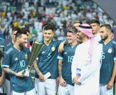 ميسي بعد الفوز على البرازيل عندما تفوز تتمكن من العمل بهدوء، هذا أمر إيجابي للغاية