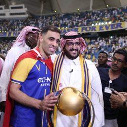 نجم النصر عبد الرزاق حمد الله، أفضل لاعب في دوري كاس الامير محمد بن سلمان وصاحب الحذاء الذهبي